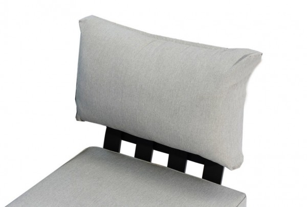 Zebra Fly Lounge Rückenkissen Einsteckmodul mixed grey