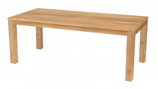 Valencia Teak Tisch Indoor 210 x 100 cm