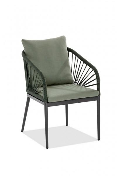Niehoff Pino Designsessel grün inkl.Kissen