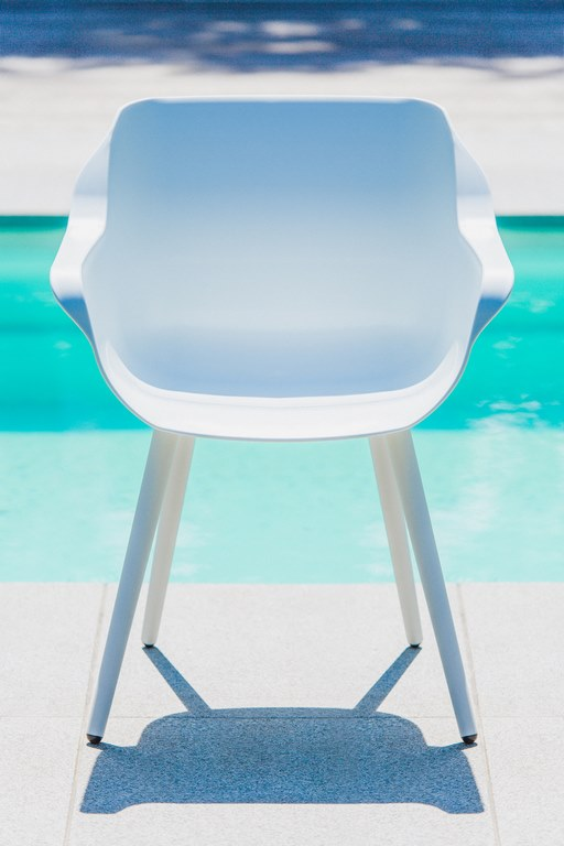 hartman sophie studio sessel aluminium kunststoff wei. Black Bedroom Furniture Sets. Home Design Ideas