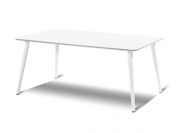 Hartman Sophie Studio Tisch HPL/Aluminium weiß