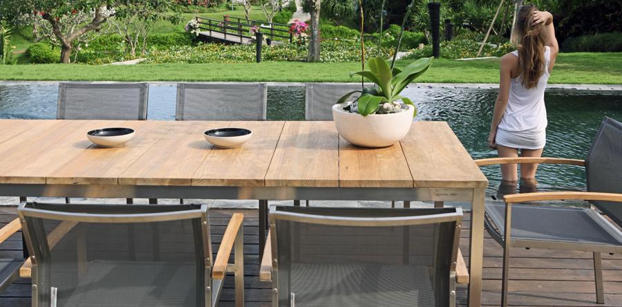 teak gartenm bel online kaufen f r einen einladenden. Black Bedroom Furniture Sets. Home Design Ideas