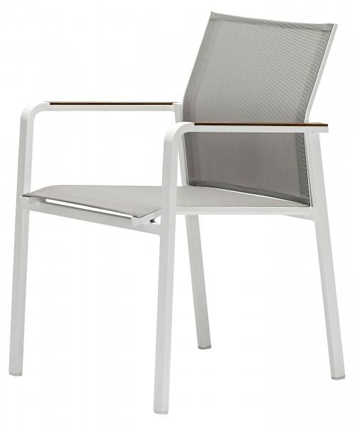 Zebra Bee Stapelsessel white/light grey - Design online kaufen ...