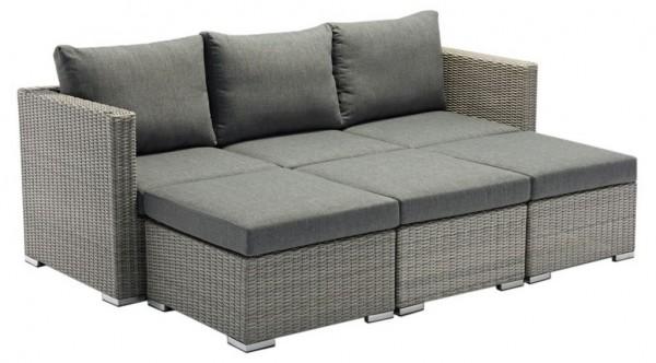 Zebra Jack Lounge Comfort Set in Farbe slate