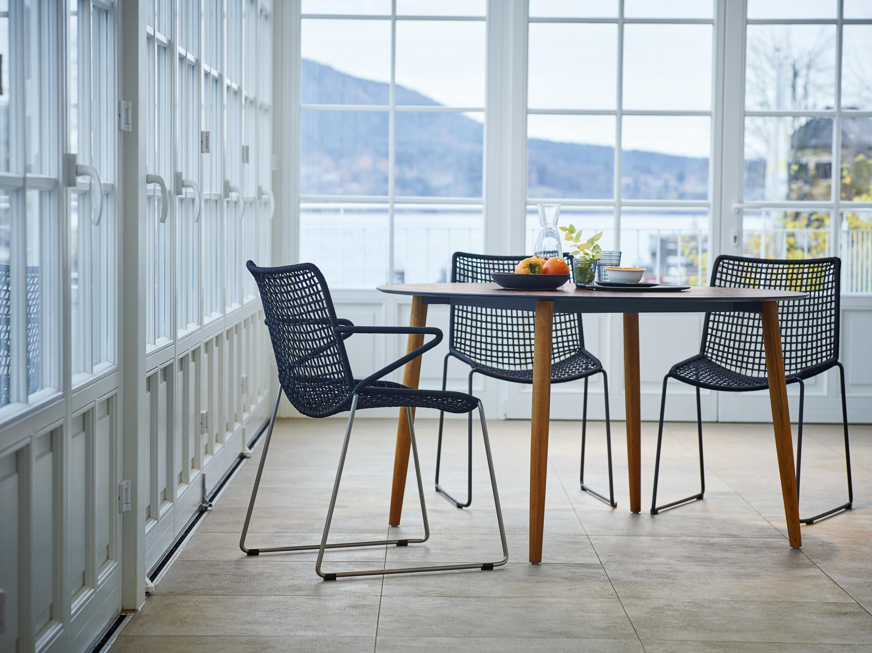 weish upl slope stuhl schwarz design vom feinsten f r garten und wohnen talaso gartenm bel. Black Bedroom Furniture Sets. Home Design Ideas