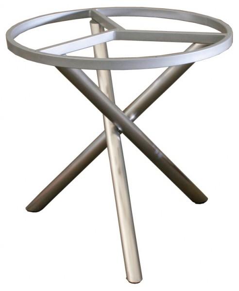 zebra mikado tisch edelstahl sela hpl platte wildeiche rund 110 cm talaso gartenm bel. Black Bedroom Furniture Sets. Home Design Ideas