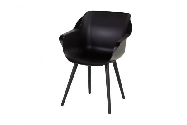 Hartman Sophie Studio Sessel Aluminium/Kunststoff schwarz