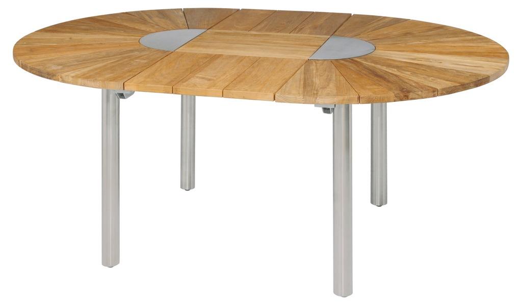 Zebra Catax Tisch Rund 135 Cm Ausziehbar Auf 185 Cm Talaso Gartenmobel Outlet Online Shop