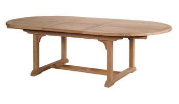 Classic Tisch oval 180 - 240 x 110 cm
